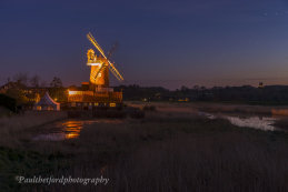 Cley mill under the stars 4