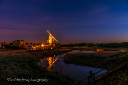 Cley mill under the stars 2