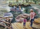 Boating lake, Avon Valley. SOLD
