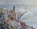 Wind and Rain, Porthleven - SOLD