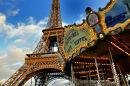 eiffel tower carousel