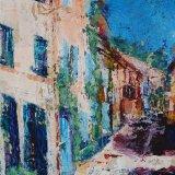Sunny Street in Provence