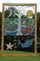 Tree of Life, Torquay Community College.  'TRAIL' Scrap Art Challege winner 2007