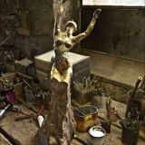 Devested bronze before patination