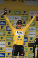 Edvald Boasson Hagen wins the General Classification of the Tour of Britain 2015