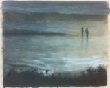 late evening fishing scottish loch no.2