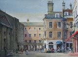 Bath Spa. Watercolour. 26 x 36