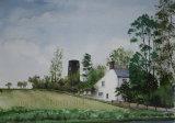 Mill House, Sea Palling, Norfolk. -Watercolour