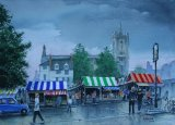 Norwich market. -Watercolour