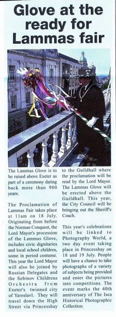 Lammas Fair Exeter