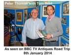 BBC TV ANTIQUES ROAD TRIP 2014
