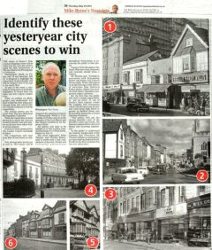 Identify Yesteryear City Scenes