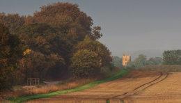 Looking Towards Avebury Church