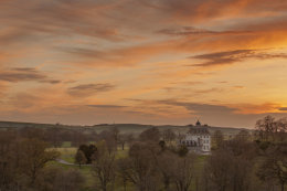 Ashdown House at Sunset