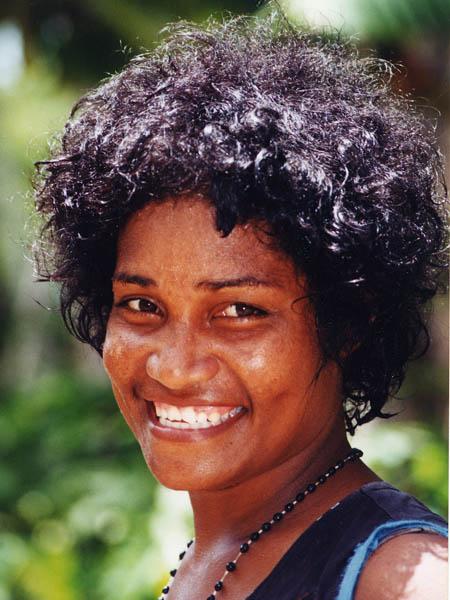 Fijian Young lady