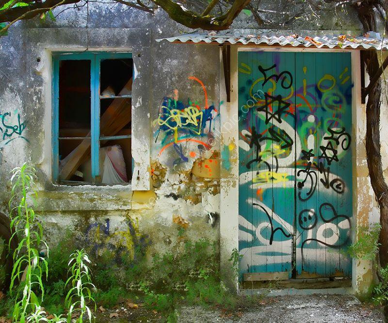 Graffiti Door 4