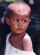 Child in Bali