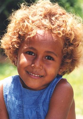 Fijian girl, Taviona
