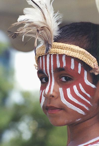 Young Aboriginal