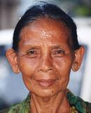 Old Balinese Lady