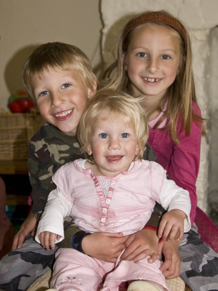 Issy, Harry and Sylvie