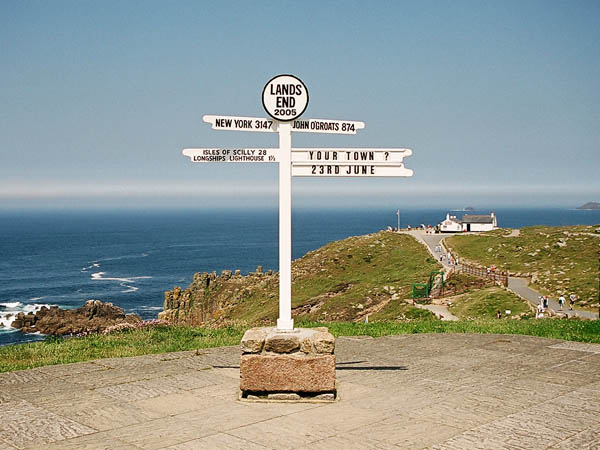 Signpost Lands End