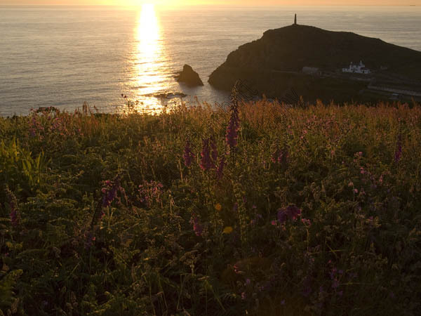 Sunset Cape Cornwall
