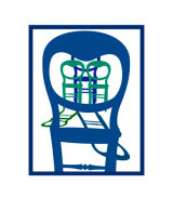 Four Chairs Blue and Green