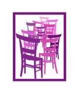 Ten Mauve Chairs
