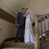 Bride and Father Horwood House