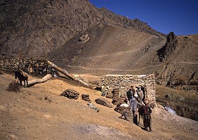 Afghan traders in Hazarajat, Afghanistan