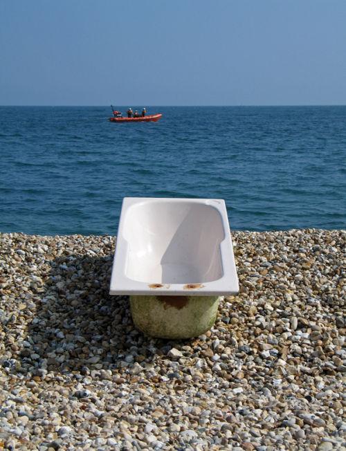 Bath rescue Lyme Regis