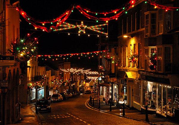 Broad Street Christmas Lights