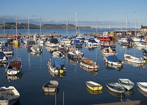 Lyme-Regis Harbour