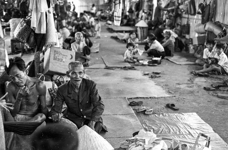 Displaced persons camp near Saigon