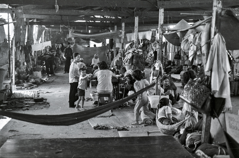 Displaced persons camp near Saigon (2)