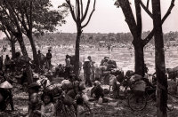Displaced persons outside Saigon