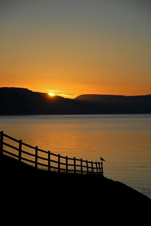 Sunrise over the Jurassic Coast