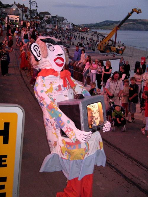 Lyme Regis Carnival procession 2006