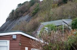 Monmouth Beach landslip-20777
