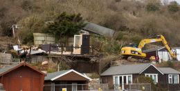 Monmouth Beach landslip-3997