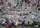 Pavement Art - Lyme Regis Carnival