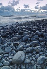 Llantwit Major seashore at dusk III