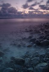 Llantwit Major seashore at dusk V