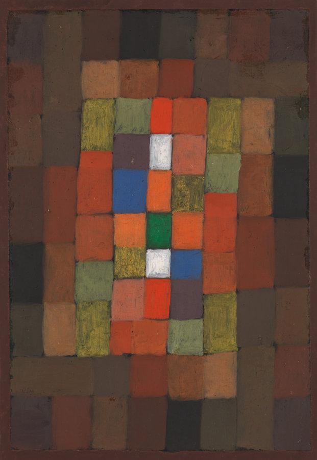 """Static-Dynamic Gradation"" by Paul Klee, 1923"