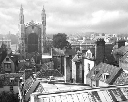 King's Chapel and rooftops