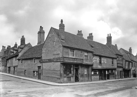 Chesterton Lane/Magdalene Street Corner