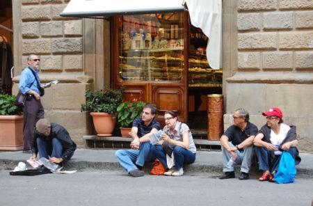 Street Scene. Florence