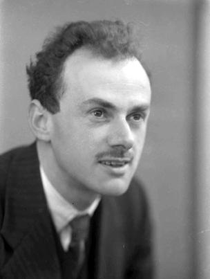 Prof.Dirac. 1934.