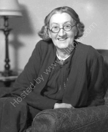 Miss Pernel Strachey. (1934)